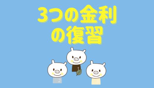 3つの金利タイプを学ぼう【店頭金利・優遇金利・適用金利】